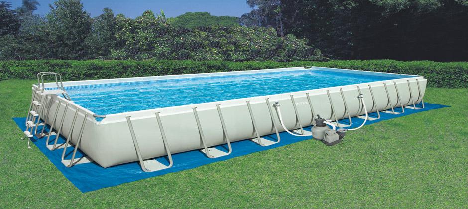 Piscina fuori terra intex offerta - Polistirolo sotto la piscina fuori terra ...